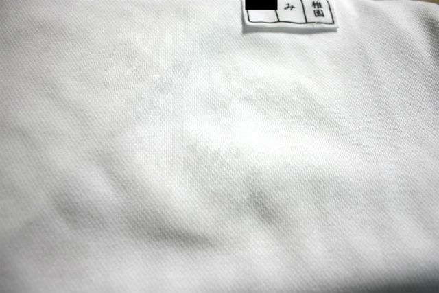 白い体操服