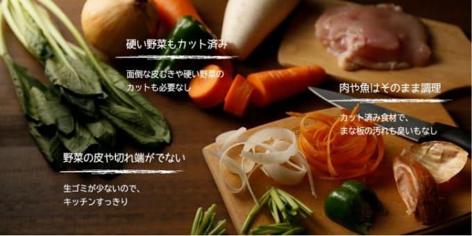 ヨシケイカットミール野菜カット済
