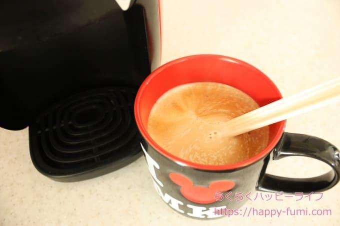 バリスタiコーヒー完成